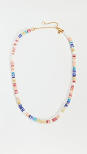 Madewell Puka Shell Beaded Necklace