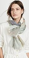 Madewell 纹理流苏格子围巾