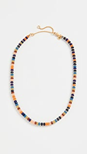 Madewell Beaded Disc Choker Necklace