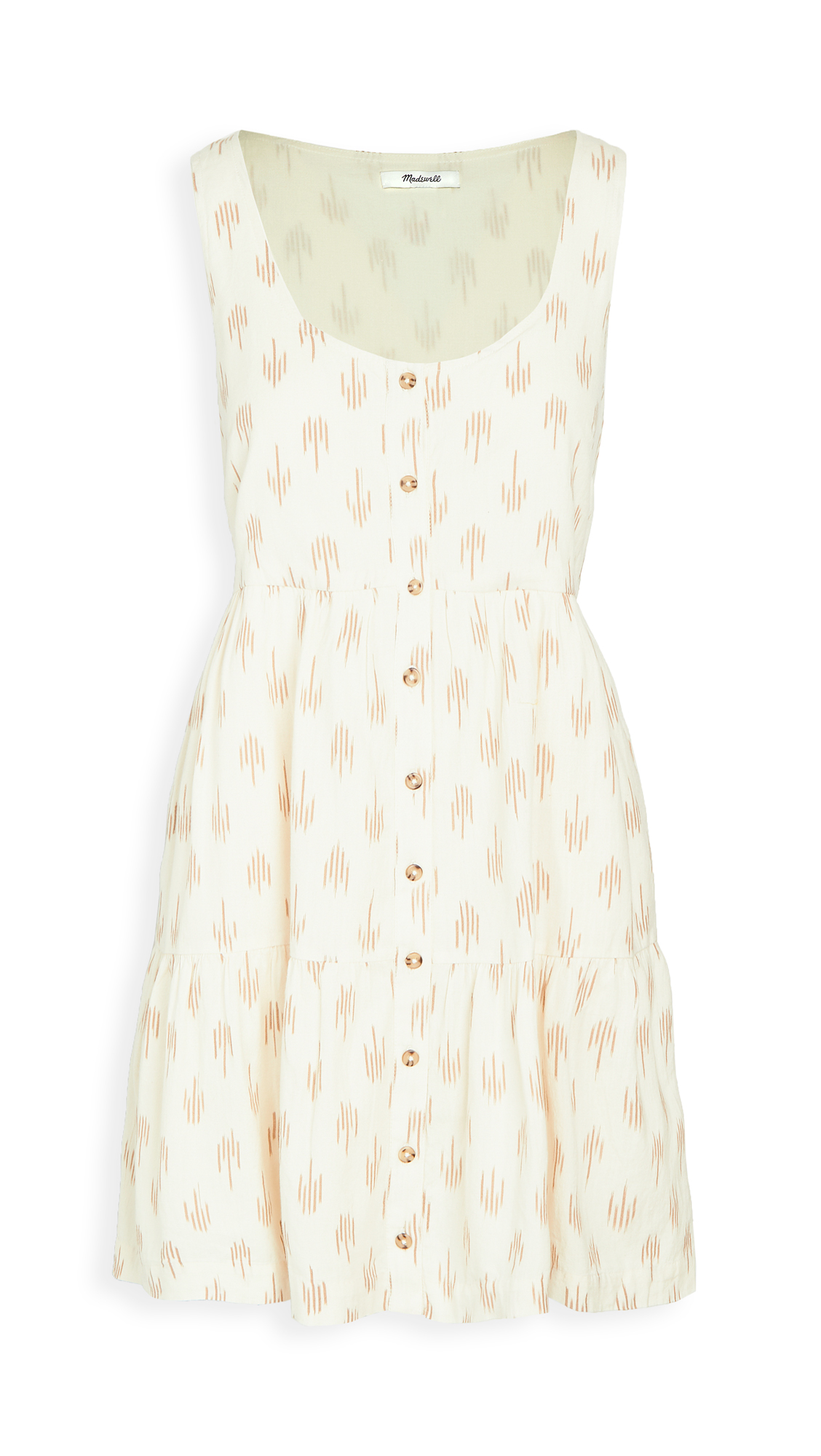 Madewell Tank Button Front Mini Dress