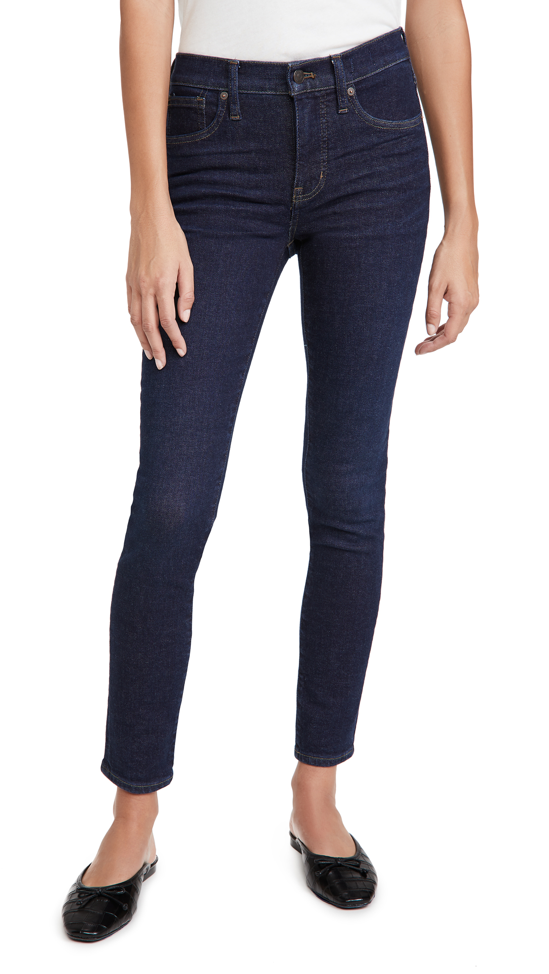 "Madewell 9"" MID RISE JEANS"