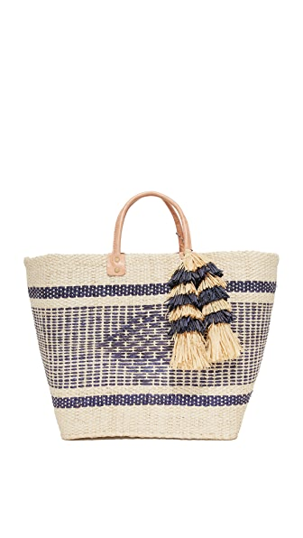 Mar Y Sol Ibiza Tote - Natural