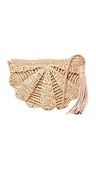 Mar Y Sol Zoe Cross Body Bag - Natural
