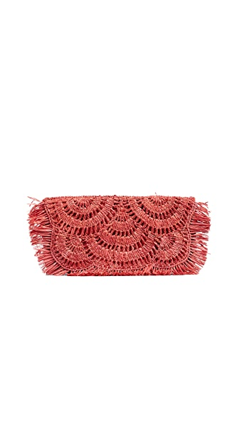 Mar Y Sol Giselle Clutch In Pink