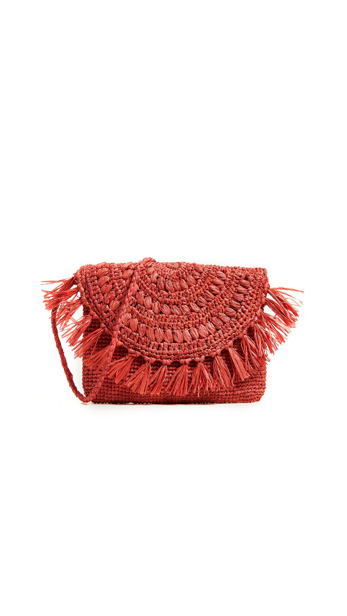 Mar Y Sol New Mia Cross Body Bag - Coral