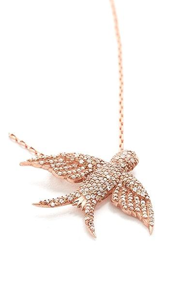 Maha Lozi Birdie Necklace