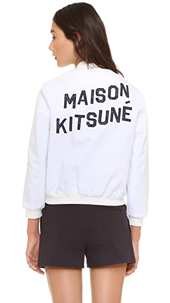 Maison Kitsune Teddy Jacket