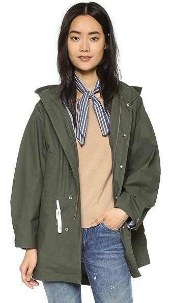 Maison Kitsune Parker Coat