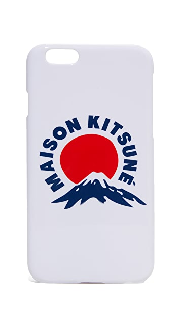 Maison Kitsune Mount Fuji iPhone 6 / 6s Case