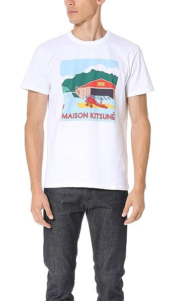 Maison Kitsune Hangar Tee