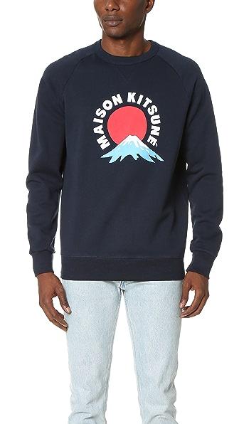 Maison Kitsune Mount Fuji Sweatshirt