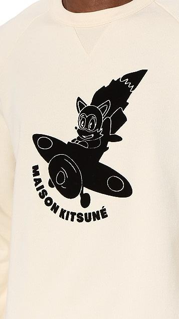 Maison Kitsune Airman Sweatshirt