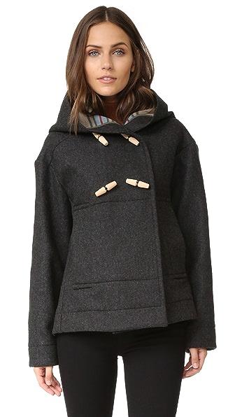 Maison Kitsune Duffle Coat