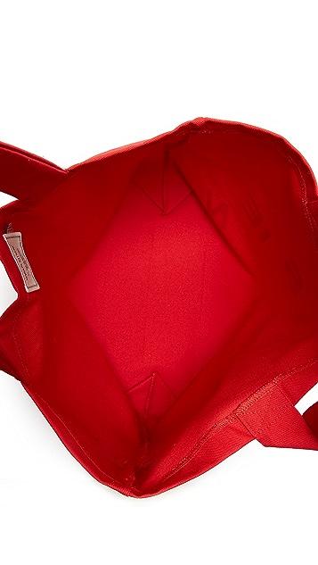 Maison Kitsune Parisien Cut Tote Bag