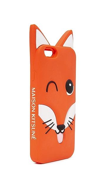 Maison Kitsune 3D Fox Head iPhone 6 Case