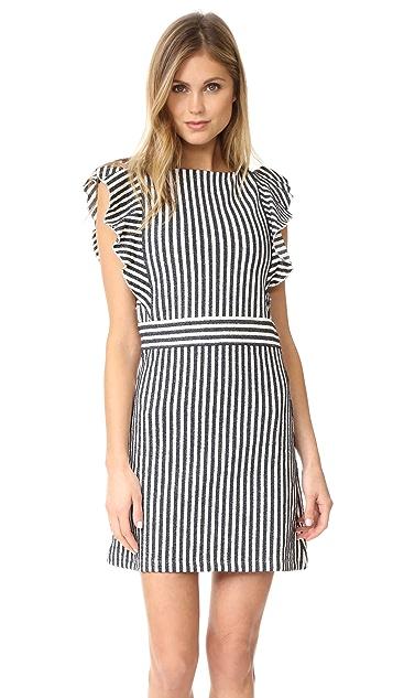 Maison Kitsune Striped Loop Dress
