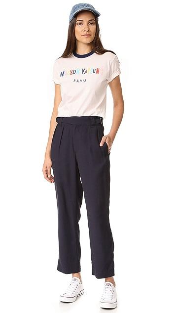 Maison Kitsune Jeanne Worker Pants