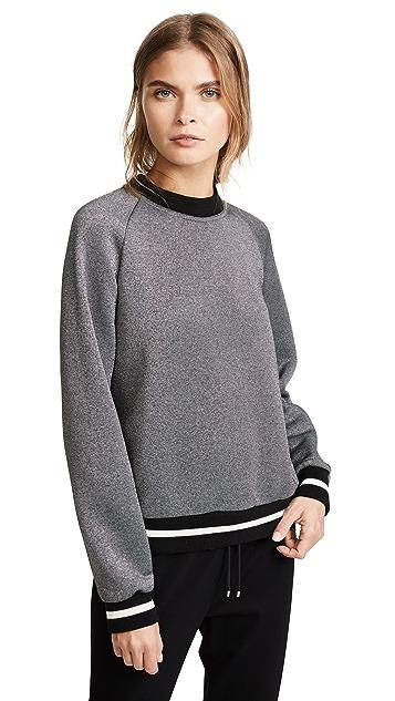Maison Kitsune Metallic Pullover