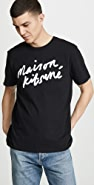 Maison Kitsune Handwriting Tee