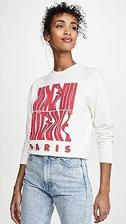 Maison Kitsune MK 波纹形运动衫