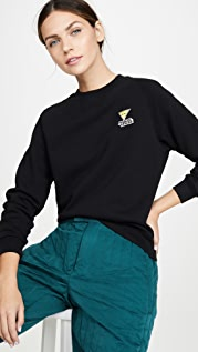 Maison Kitsune Sweatshirt Smiley Fox Patch