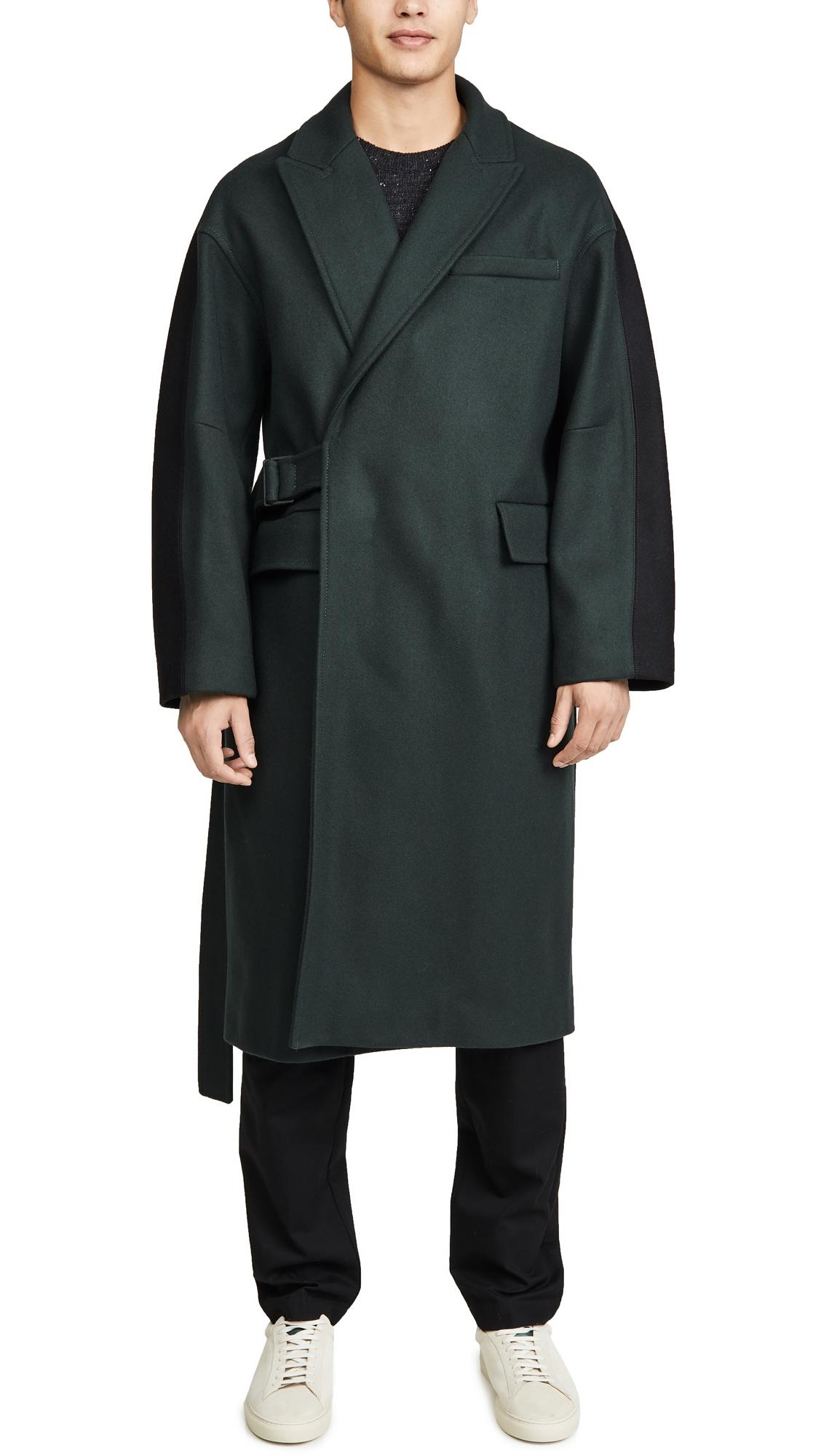 Maison Kitsuné Coats WRAP COAT