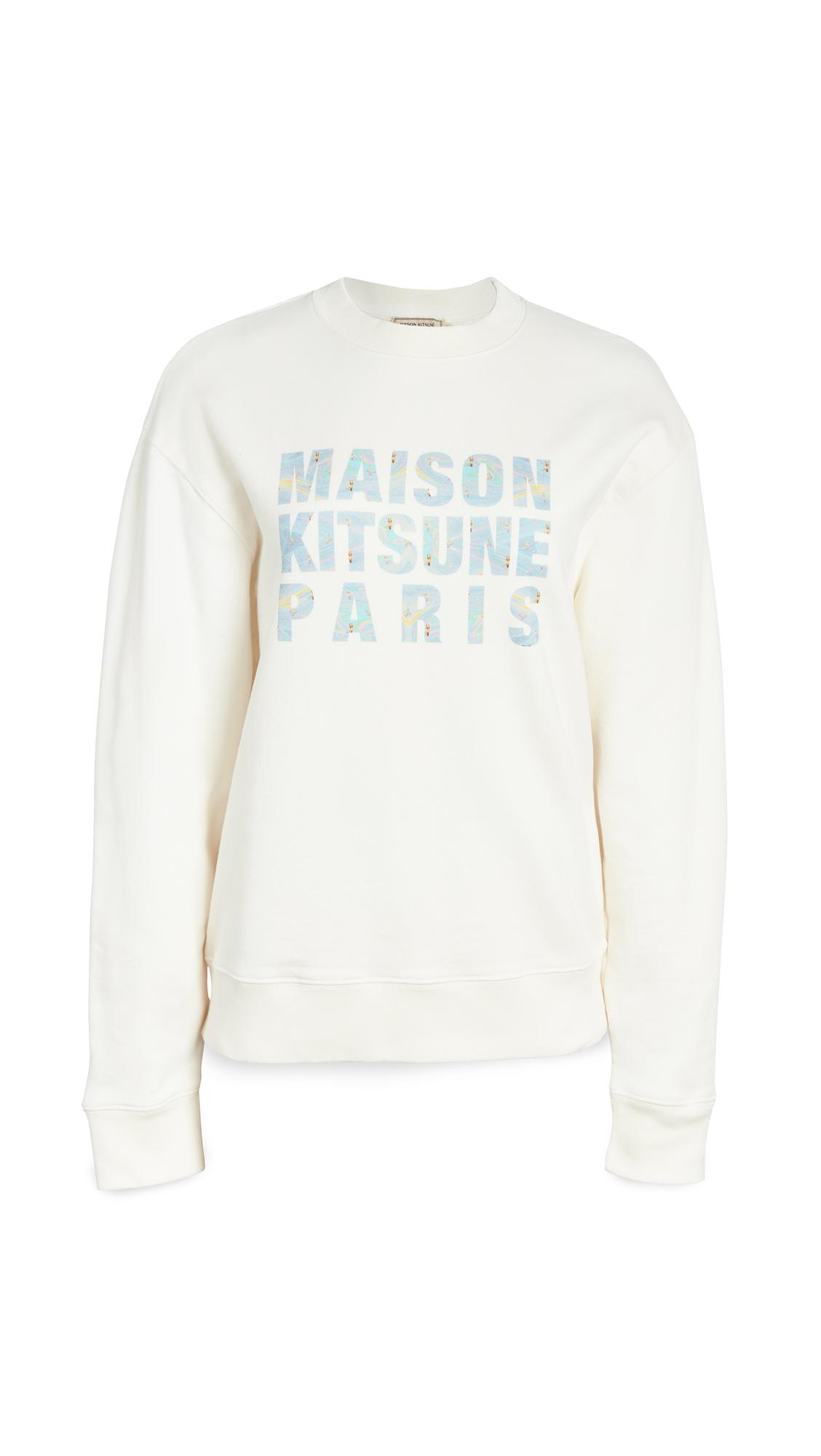 Maison Kitsune Sweatshirt Hologram Maison Kitsune Paris - 30% Off Sale