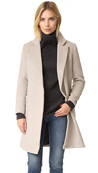 Scotch & Soda/Maison Scotch Wrap Over Coat
