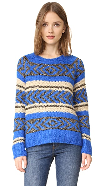 Scotch & Soda/Maison Scotch Jacquard Sweater
