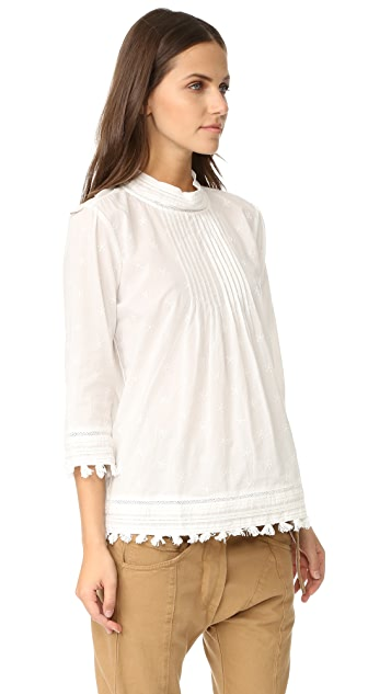 Scotch & Soda/Maison Scotch Embroidered Star Blouse