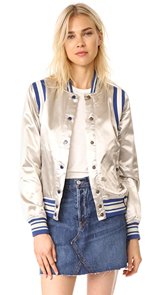 Scotch & Soda/Maison Scotch Silky Sporty Bomber Jacket