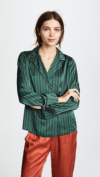 Scotch & Soda/Maison Scotch Pajama Blouse - Combo S