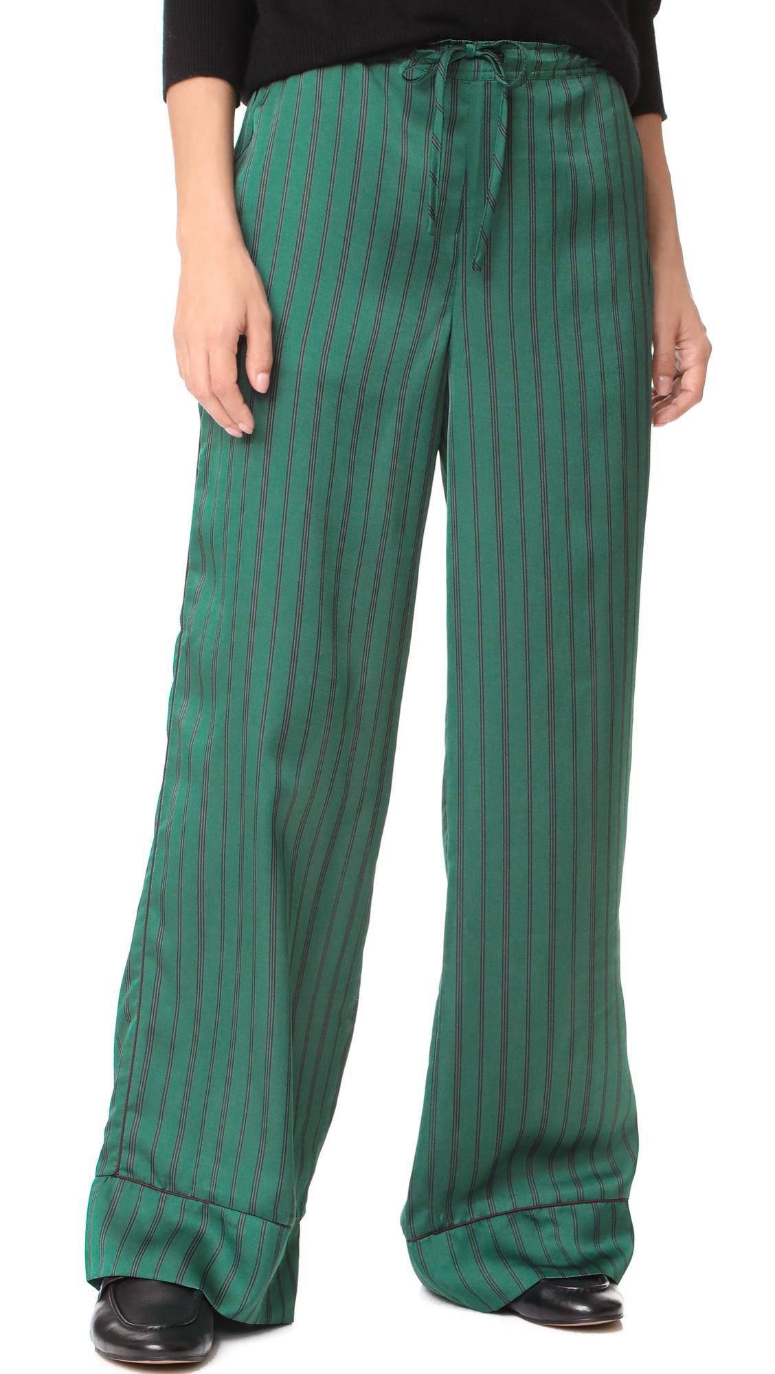 Scotch & Soda/Maison Scotch Wide Leg Pajama Pants - Combo S