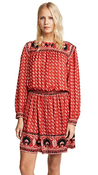 Scotch & Soda/Maison Scotch Printed Dress In Combo A