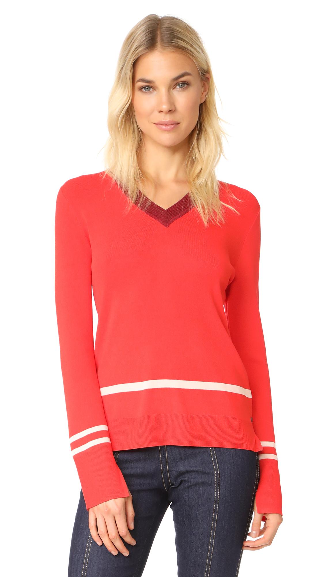 Scotch & Soda/Maison Scotch Sporty Sweater - Crimson