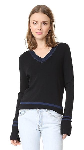 Scotch & Soda/Maison Scotch Sporty Sweater In Black