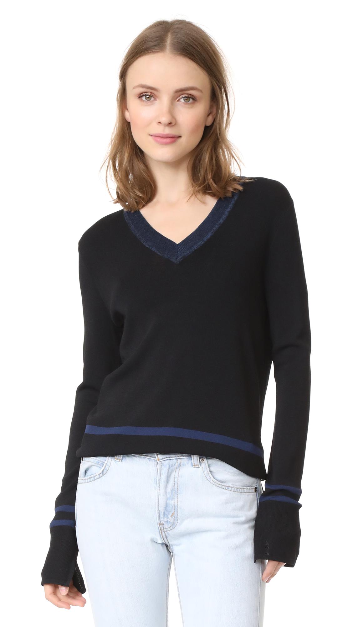 Scotch & Soda/Maison Scotch Sporty Sweater - Black