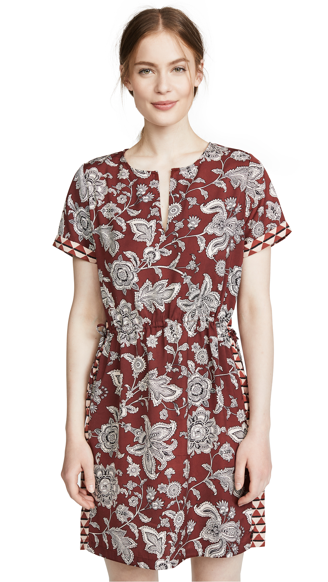 Scotch & Soda/Maison Scotch Paisley Print Dress In Combo A