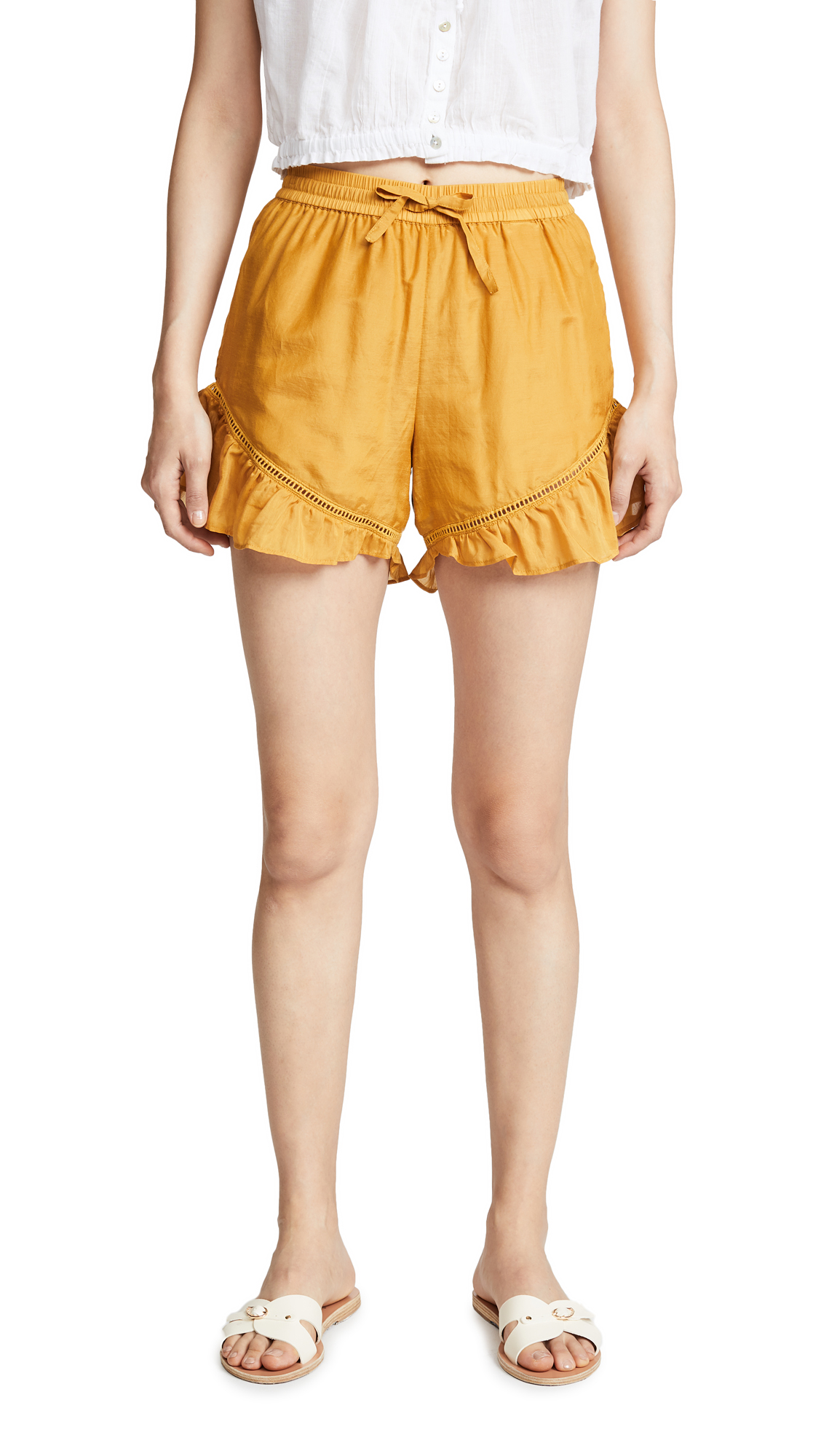Scotch & Soda/Maison Scotch Cotton Silk Shorts