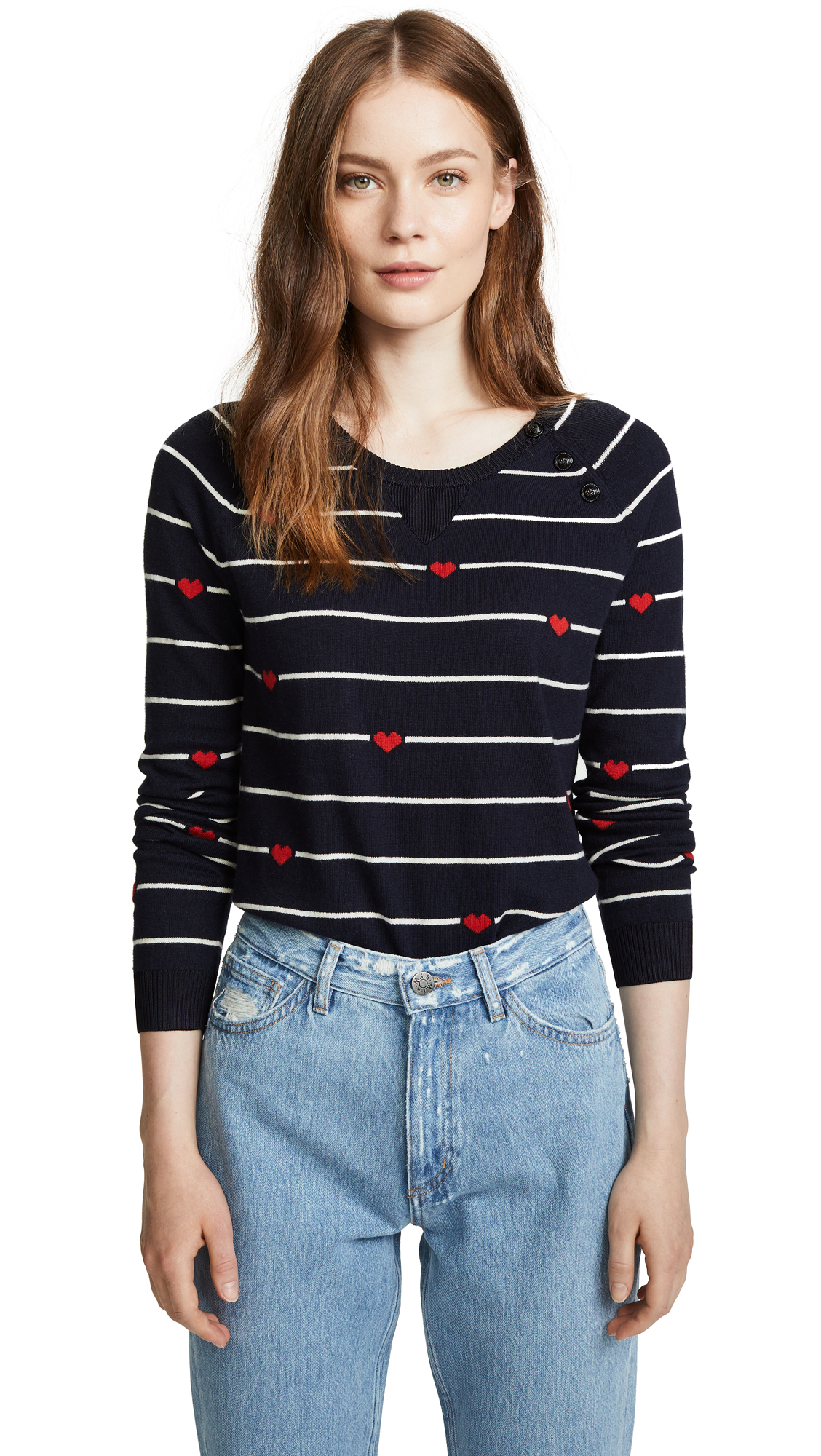 SCOTCH & SODA/MAISON SCOTCH HEART SWEATER