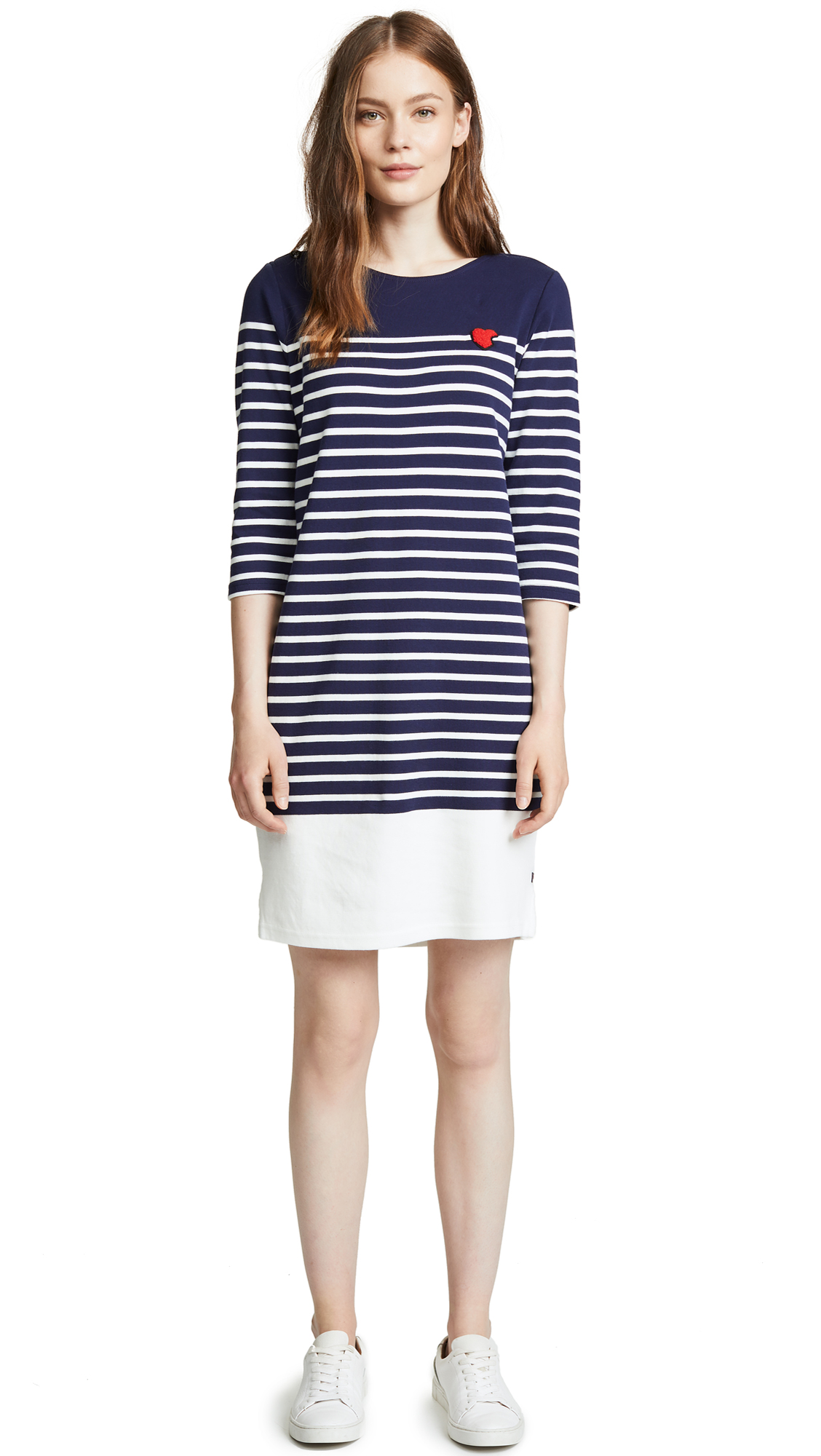 SCOTCH & SODA/MAISON SCOTCH BRETON STRIPED DRESS