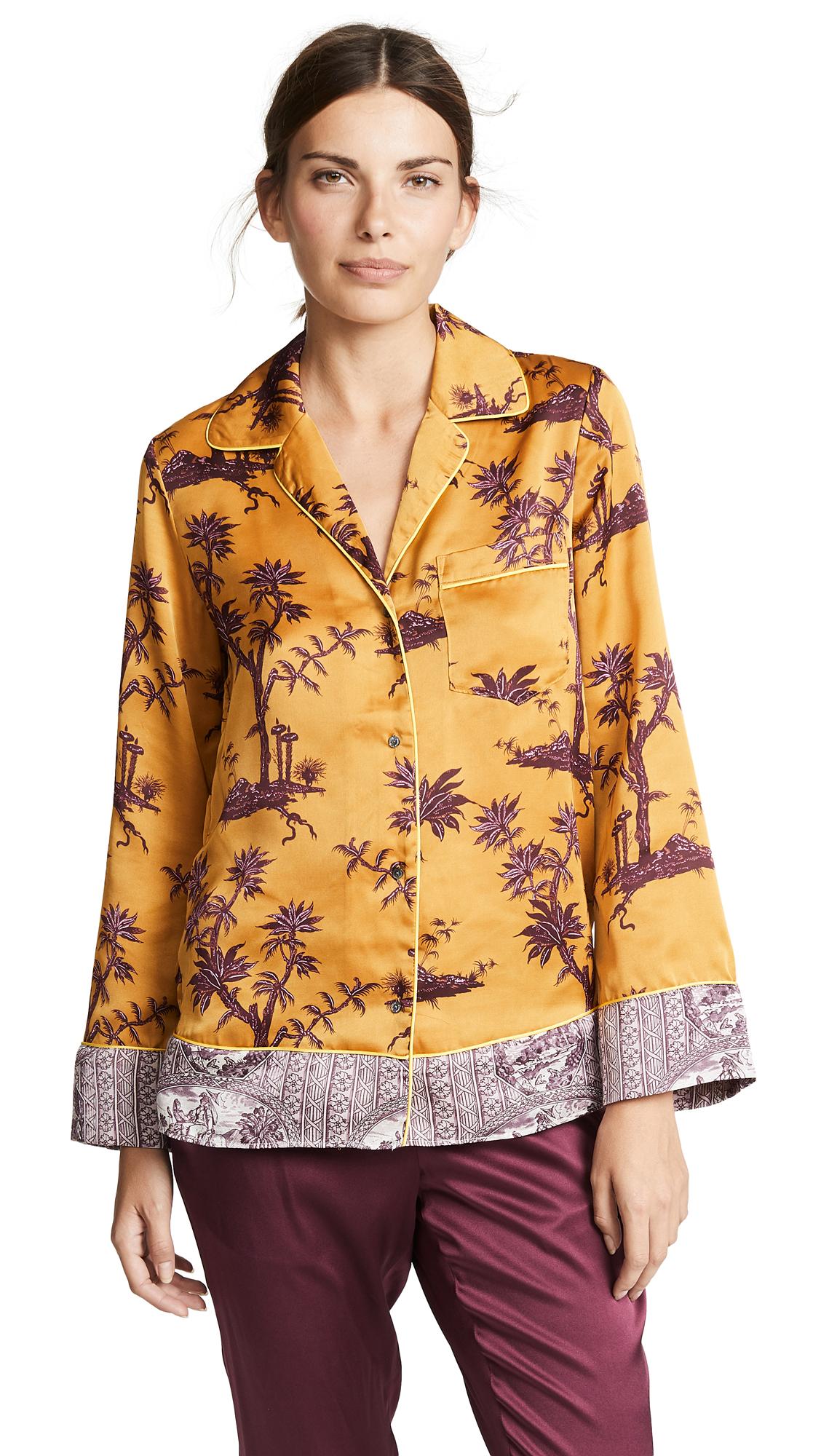 SCOTCH & SODA/MAISON SCOTCH Pyjama Shirt in Combo A