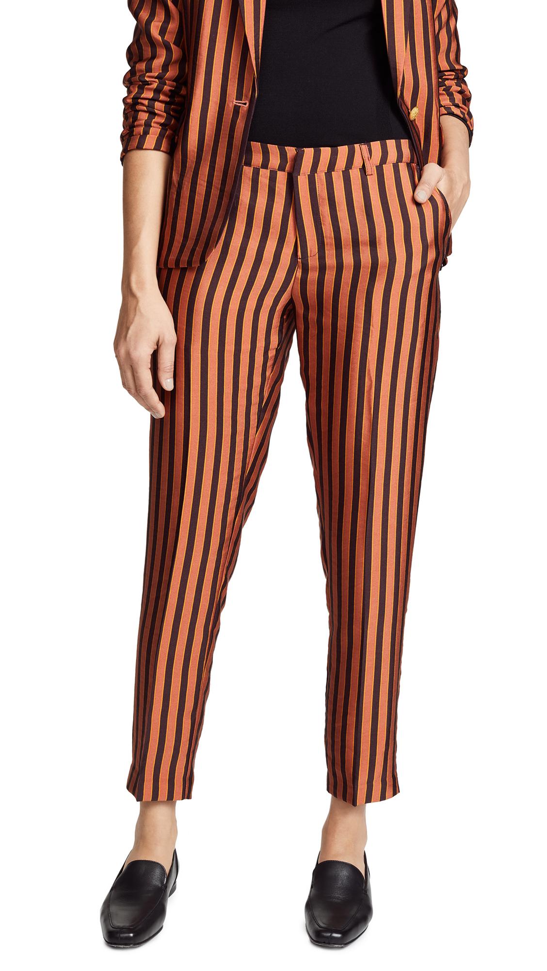 Scotch & Soda/Maison Scotch Striped Tailored Pants In Combo S