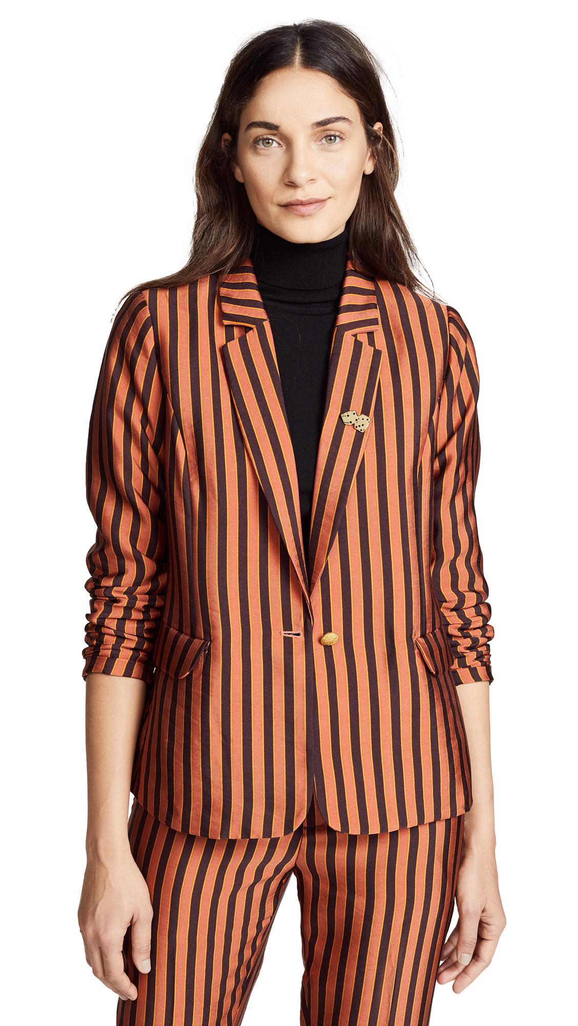 SCOTCH & SODA/MAISON SCOTCH Classic Striped Blazer in Combo S