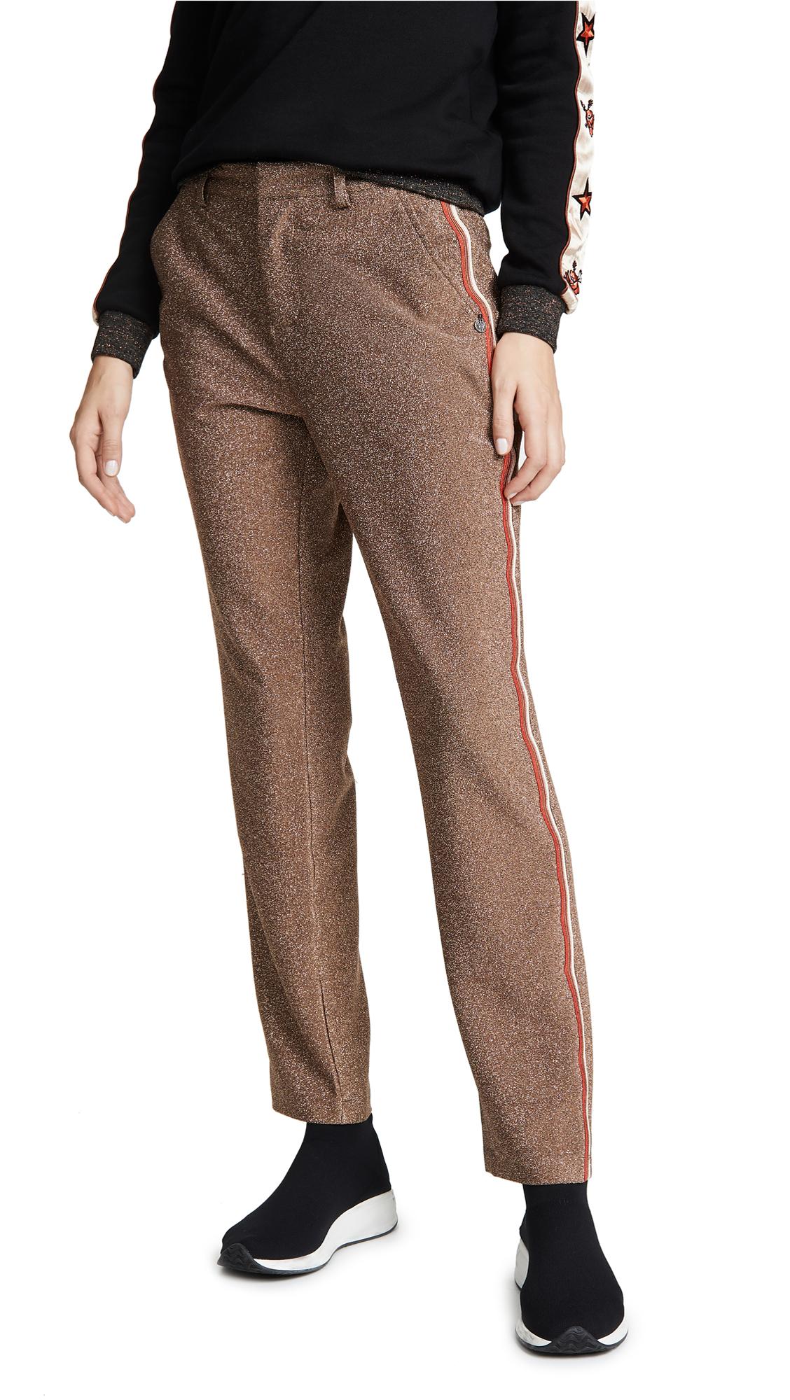 Scotch & Soda/Maison Scotch Metallic Tailored Pants In Combo A