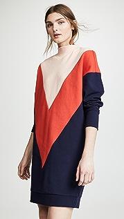 Scotch & Soda/Maison Scotch Turtleneck Sweater Dress