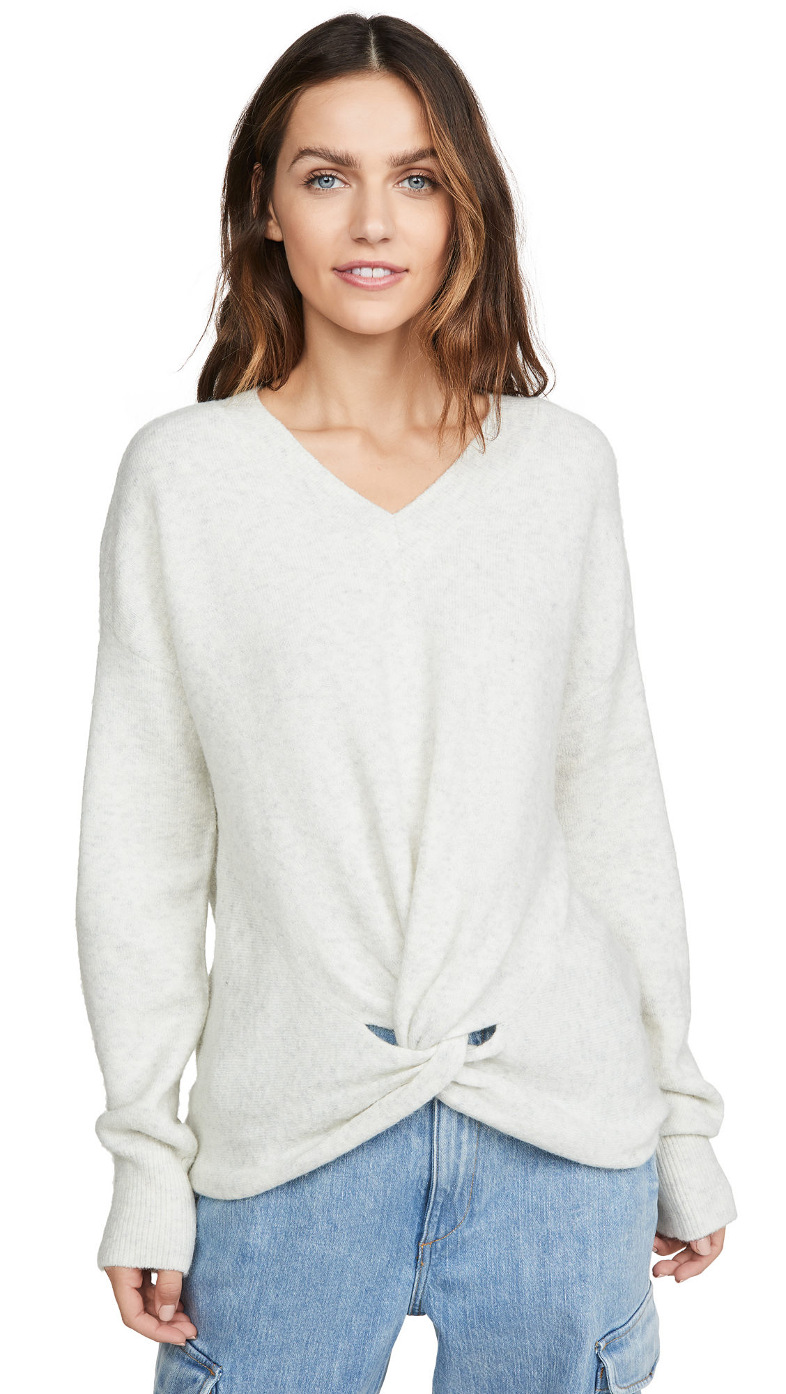 Buy Scotch & Soda/Maison Scotch online - photo of Scotch & Soda/Maison Scotch Knot Detailed Sweater