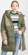 Scotch & Soda/Maison Scotch 混合面料派克外套