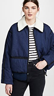 Scotch & Soda/Maison Scotch 加衬牛仔布短夹克