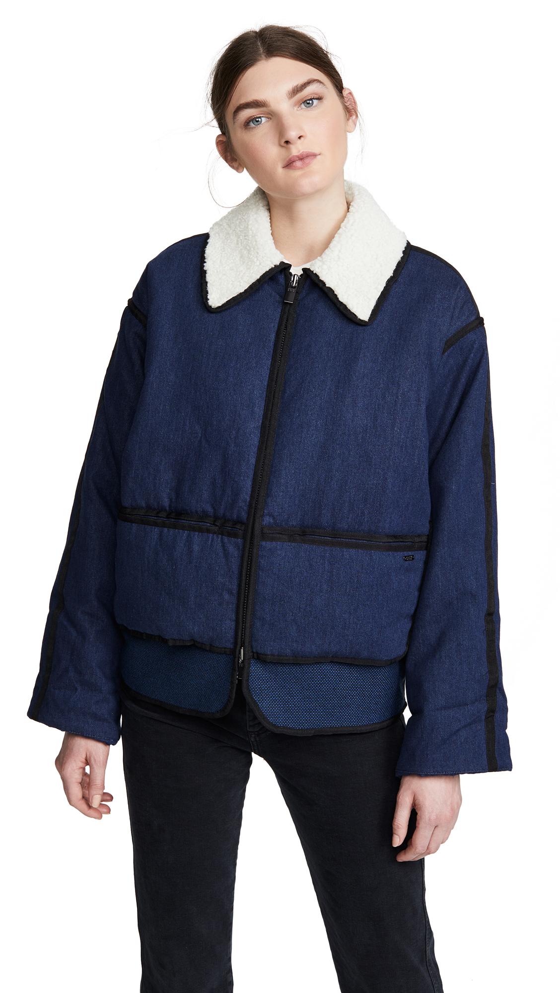 Buy Scotch & Soda/Maison Scotch Padded Denim Bomber Jacket online beautiful Scotch & Soda/Maison Scotch Jackets, Coats, Down Jackets